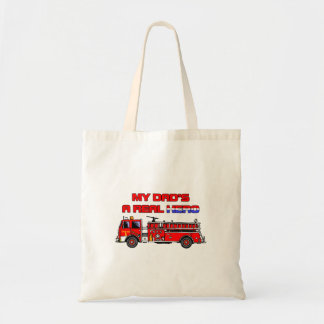 Sapador-bombeiro real do herói bolsas para compras