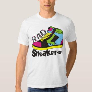 sapatilhas do RAD do anos 80 T-shirt