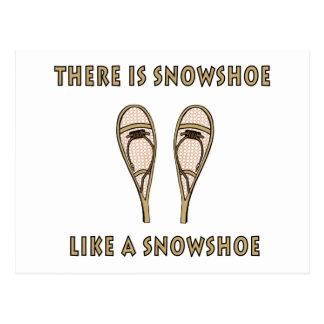 Sapato de neve cartão postal