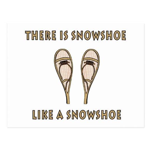 Sapato de neve cartoes postais