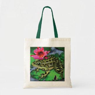 Sapo de leopardo bolsa tote