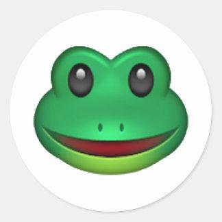 Sapo - Emoji Adesivo