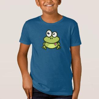 Sapo engraçado dos desenhos animados - t-shirt dos