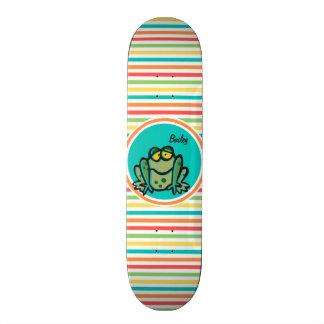 Sapo; Listras brilhantes do arco-íris Skate