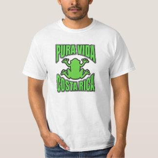 Sapo verde escuro de Vida Costa Rica Camiseta