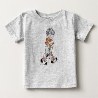 """Sarah Kay camisa infantil do """"Finn"""" T"""