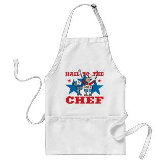 Saraiva ao cozinheiro chefe do CHURRASCO Avental