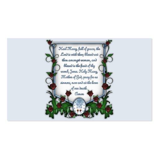 Saraiva Mary Cartões De Visita