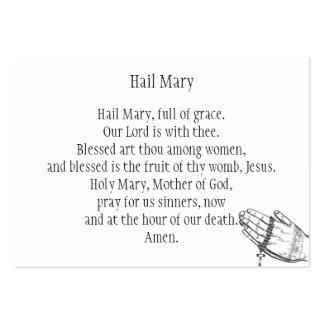 Saraiva Mary Cartão De Visita Grande