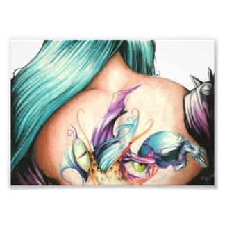 Saras Tattoo_Print Impressão De Foto