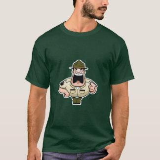 Sargento de broca camisa