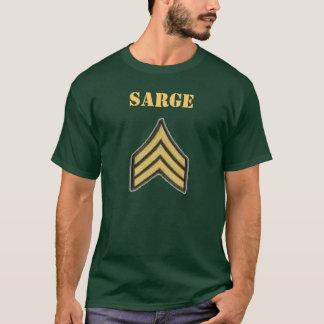 Sargento de exército camisa