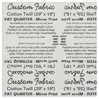 Sarja feita sob encomenda do algodão do impressão, tecido