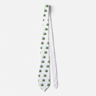 Sasquatch bonito dos desenhos animados gravata