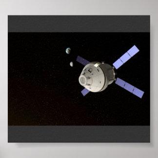 SATÉLITE DA NASA POSTER
