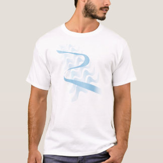 Satin. abstrato camiseta