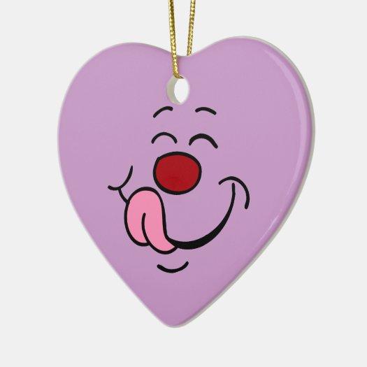 Satisfeito: Ornamento do coração para balões ou fl ornamentos