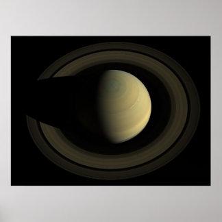 Saturn de cima de pôster