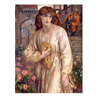 Saudação de Rossetti do cartão de Beatrice CC0646