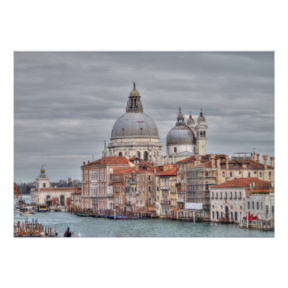 Saudação do della de Santa Maria, Veneza Italia Poster