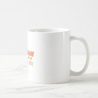 Saudável cru caneca de café