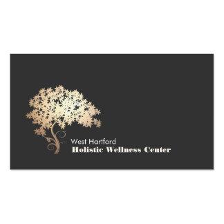 Saúde holística e alternativa da árvore dourada do