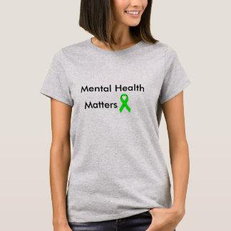 Saúde mental camiseta