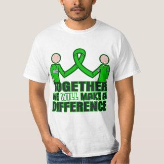 Saúde mental junto nós faremos um Difference.p T-shirts