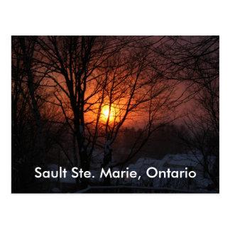Sault Ste. Marie, cartão de Ontário