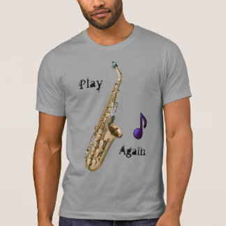 Saxofone Camiseta