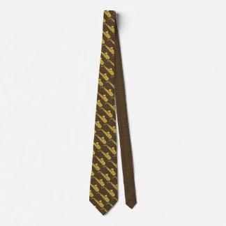 Saxofone do saxofone gravata