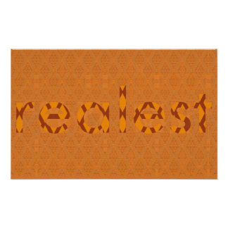 "SBC&Co. X poster de Nolobotamus ""Realest"""