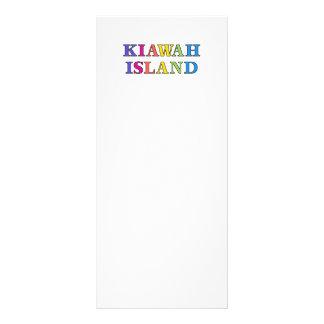 SC de Kiawah Island 10.16 X 22.86cm Panfleto