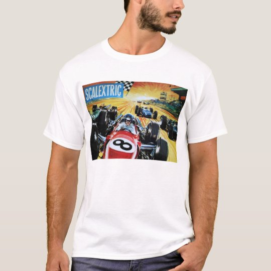 Scalextric Vintage Slot Car Camiseta