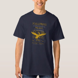 Scallywags 18 1/12 etiquetas do aniversário (2015) t-shirt