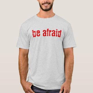 scaredfit.com seja camiseta receosa do exercício