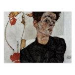 schiele 079 de Egon Cartão Postal