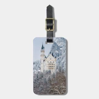 Schloss Neuschwanstein Etiqueta De Bagagem