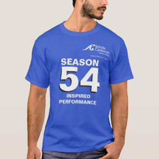 Schola Cantorum SV tempera a camiseta de 54