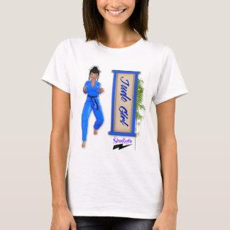 """Scolletta do """"menina"""" T judo Camiseta"""