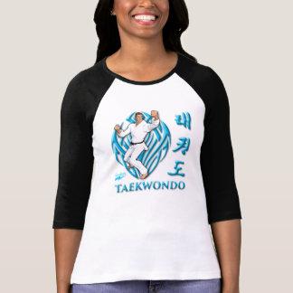 "Scolletta ""Taekwondo"" 3/4 de Raglan Camisetas"