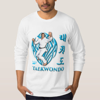 "Scolletta ""Taekwondo"" Longsleeve Camisetas"
