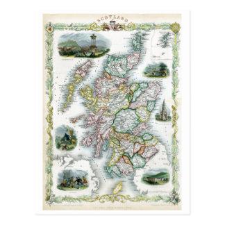 Scotland 1851 cartão postal