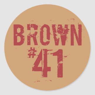 Scott #41 MARROM Adesivo