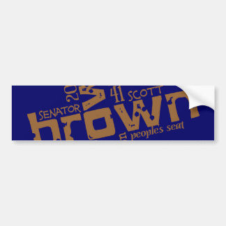 Scott histórico Brown Adesivos