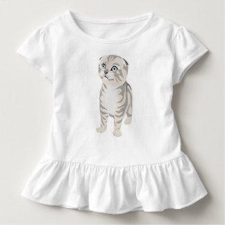  Scottish Fold Kitten children's t-shirt camiseta