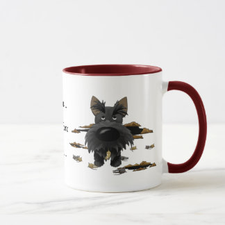 Scottish Terrier (Scotties) que eu caço… Caneca