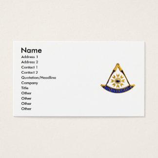 SCpastmasterGold, nome, endereço 1, endereço 2, C… Cartão De Visitas