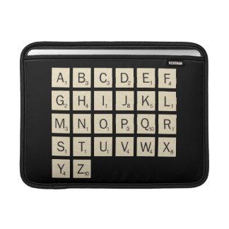 Scrabble personalizado bolsas de MacBook