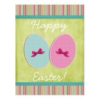 Scrapbooking dos ovos da páscoa colorido cartão postal